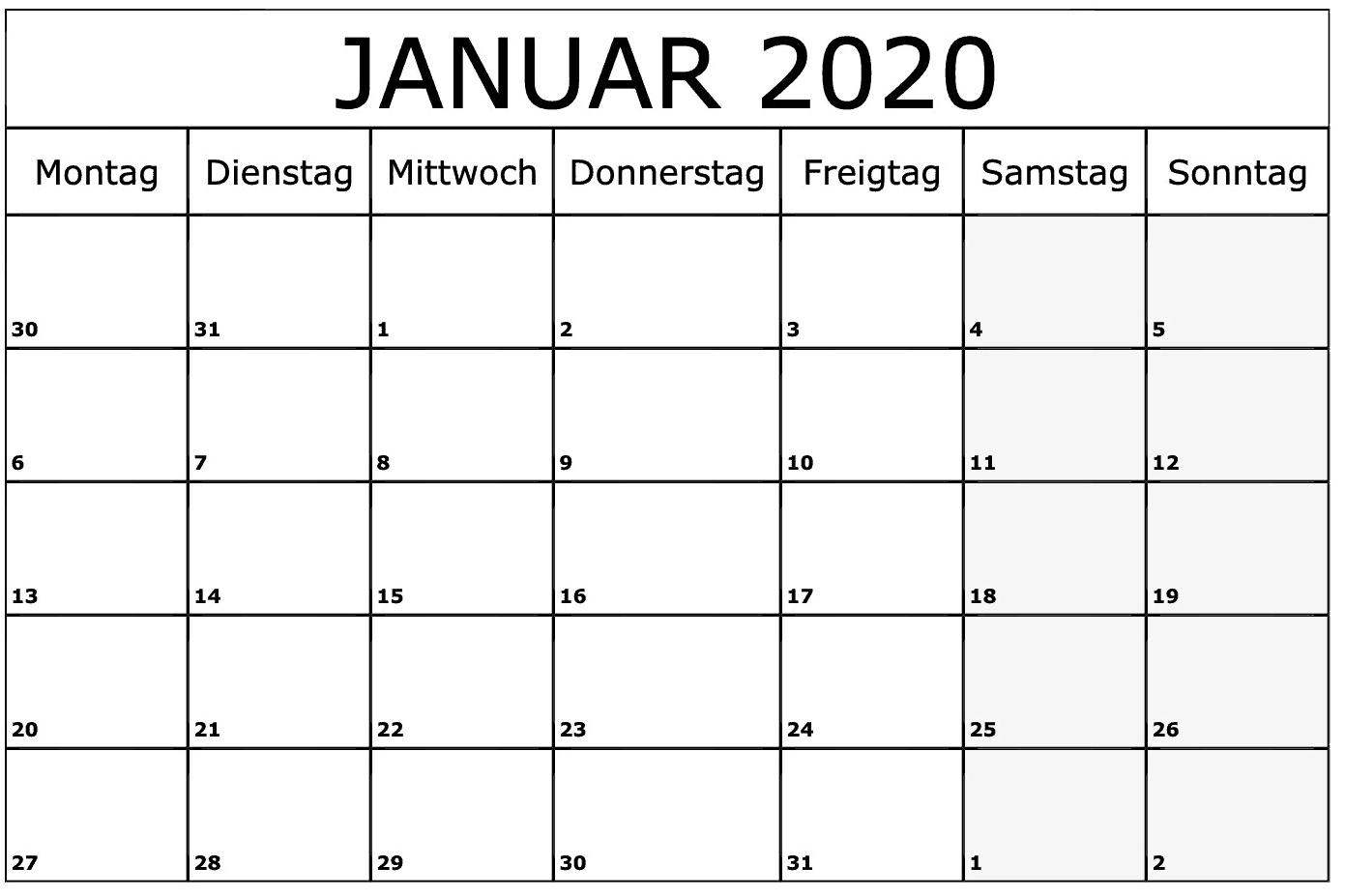 kalender januar 2019 norsk