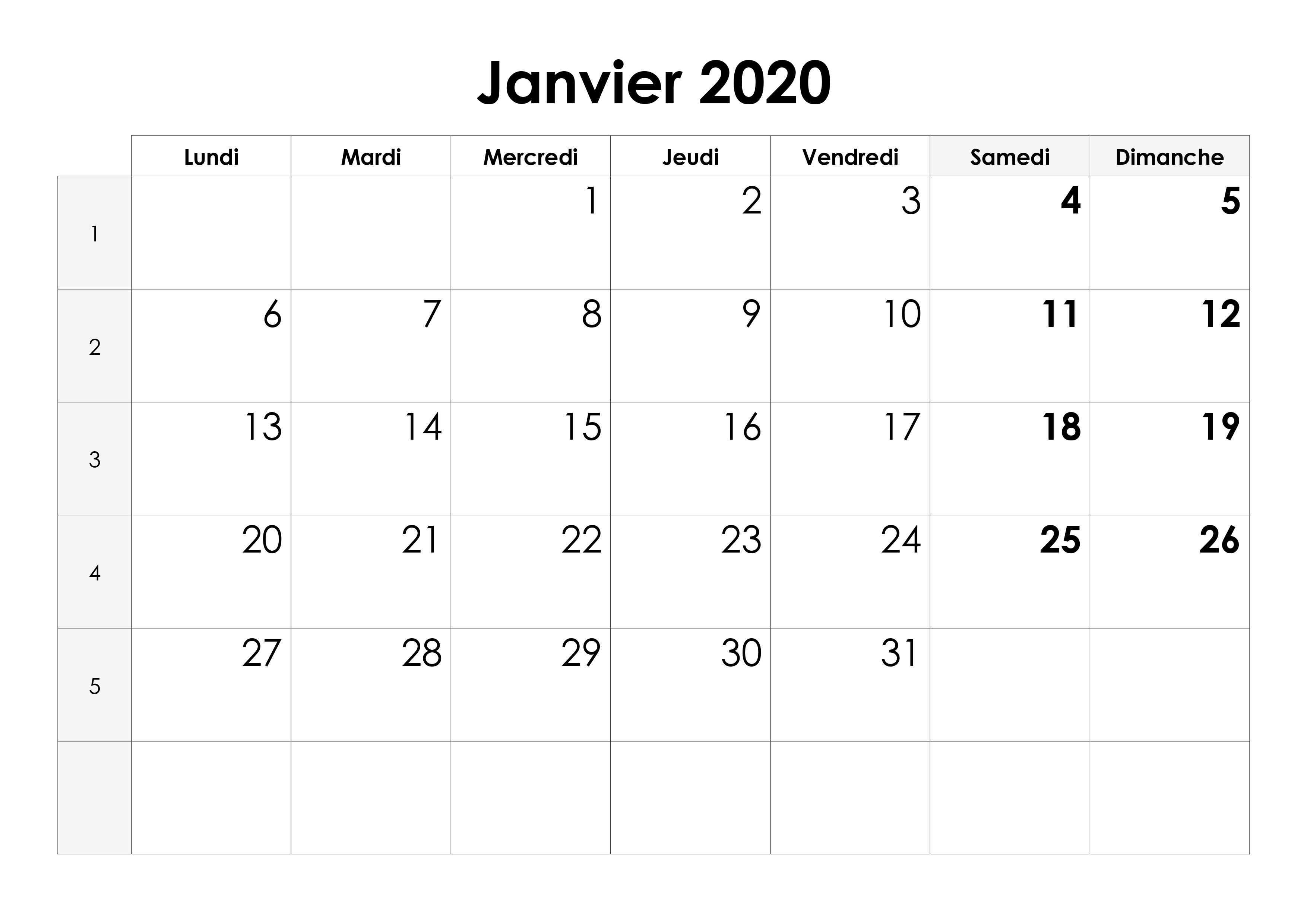 Calendrier Coupe Du Monde 2020 A Imprimer.Calendrier 2020 A Imprimer Pdf