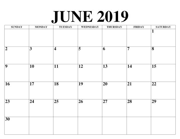 Kalender Juni 2020 Stile