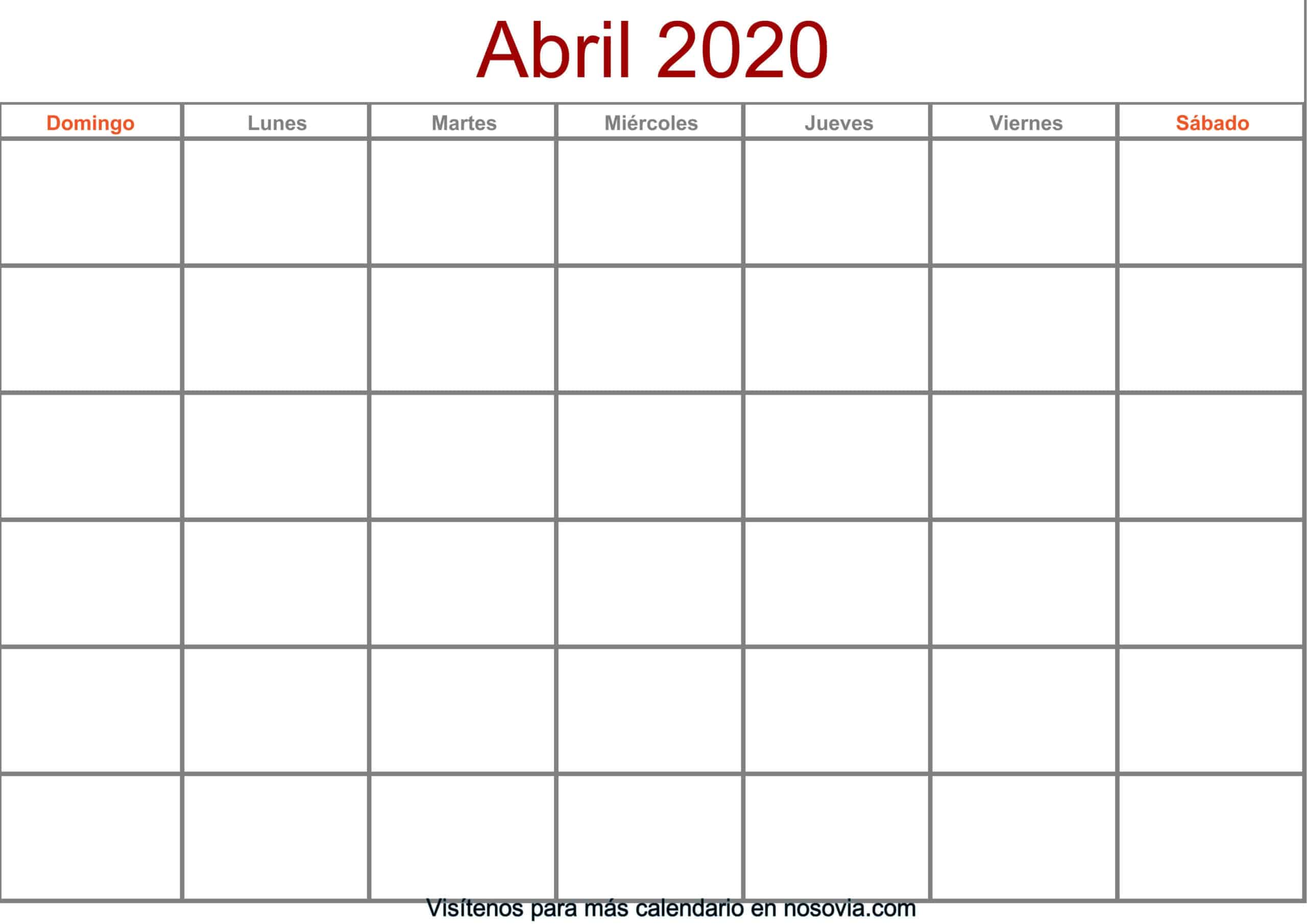 Calendario-abril-2020-en-blanco-Formato-gratis