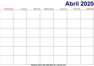 Calendario-abril-2020-en-blanco-Imprimir-gratis