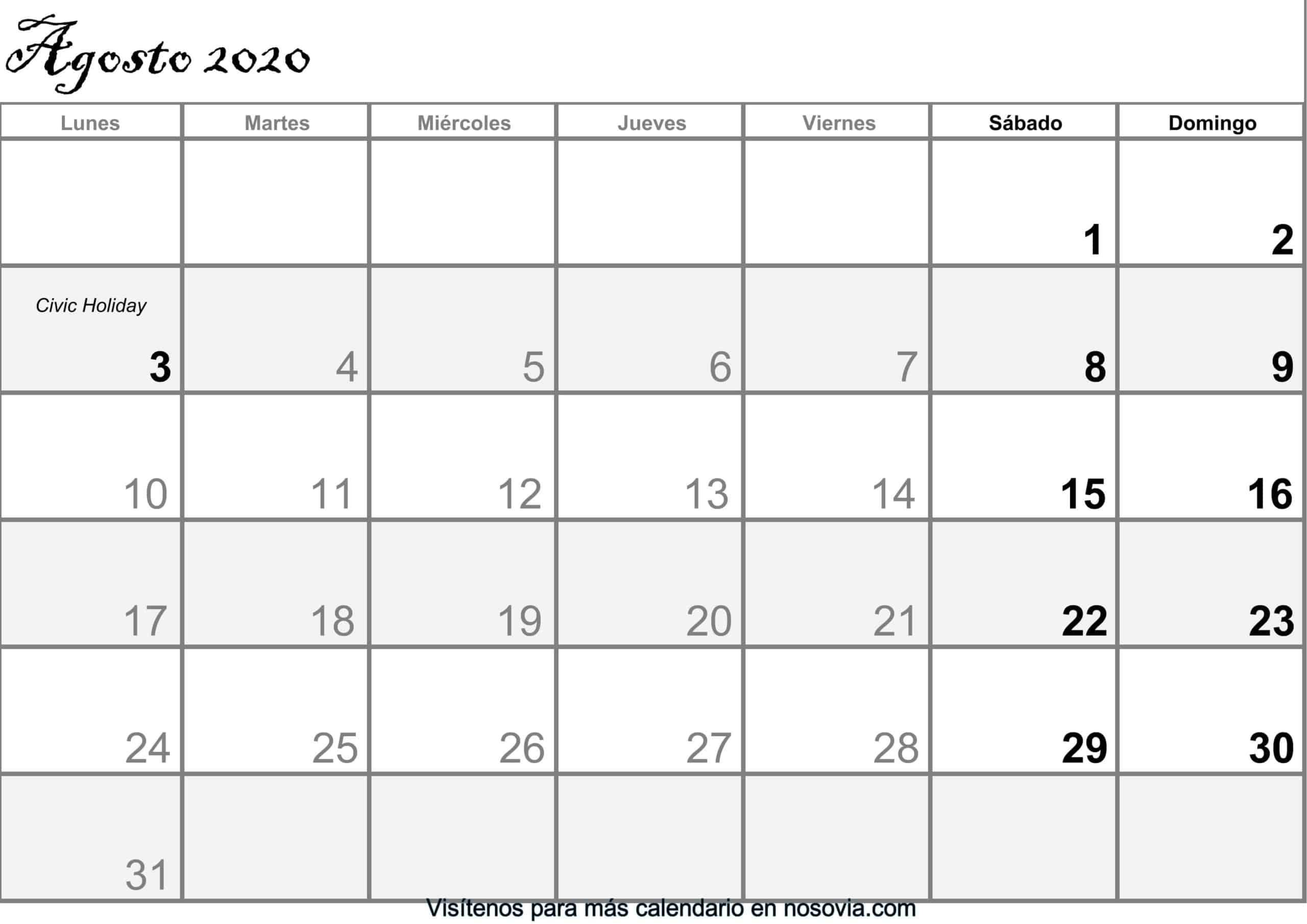 Calendario-agosto-2020-Con-Festivos-PDF