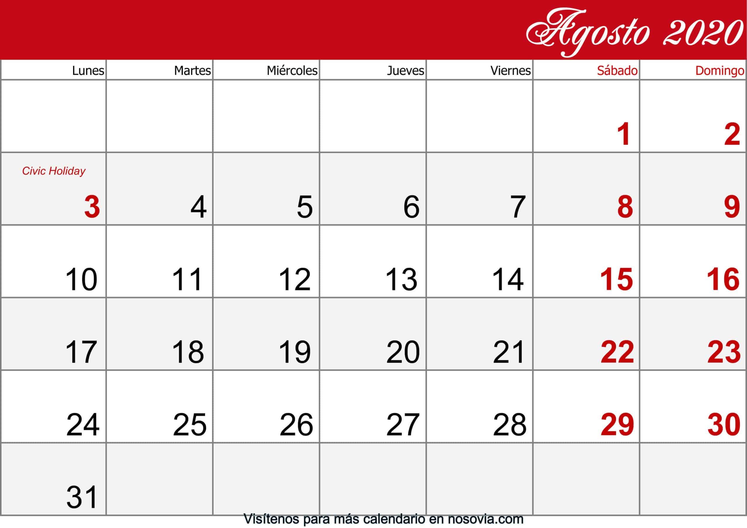 Calendario-agosto-2020-Con-Festivos-imprimible