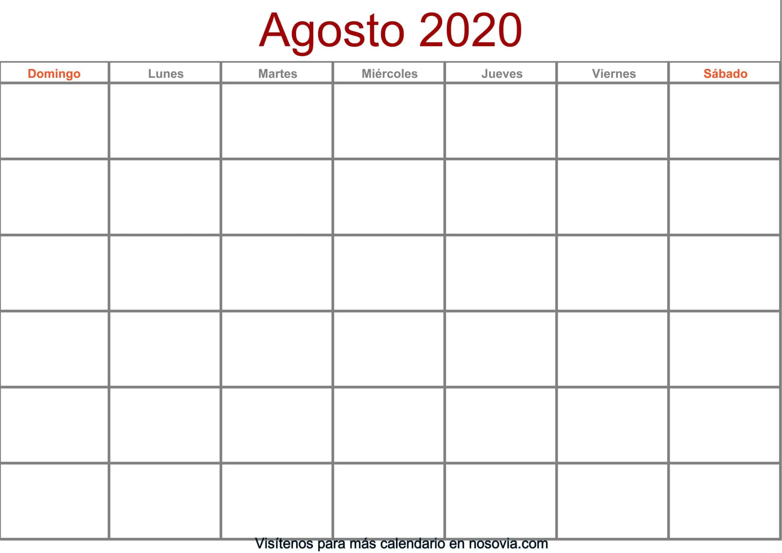 Calendario-agosto-2020-en-blanco-Formato-gratis