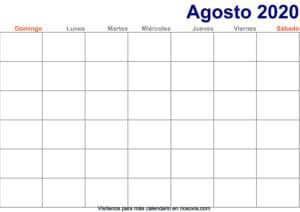 Calendario-agosto-2020-en-blanco-Imprimir-gratis