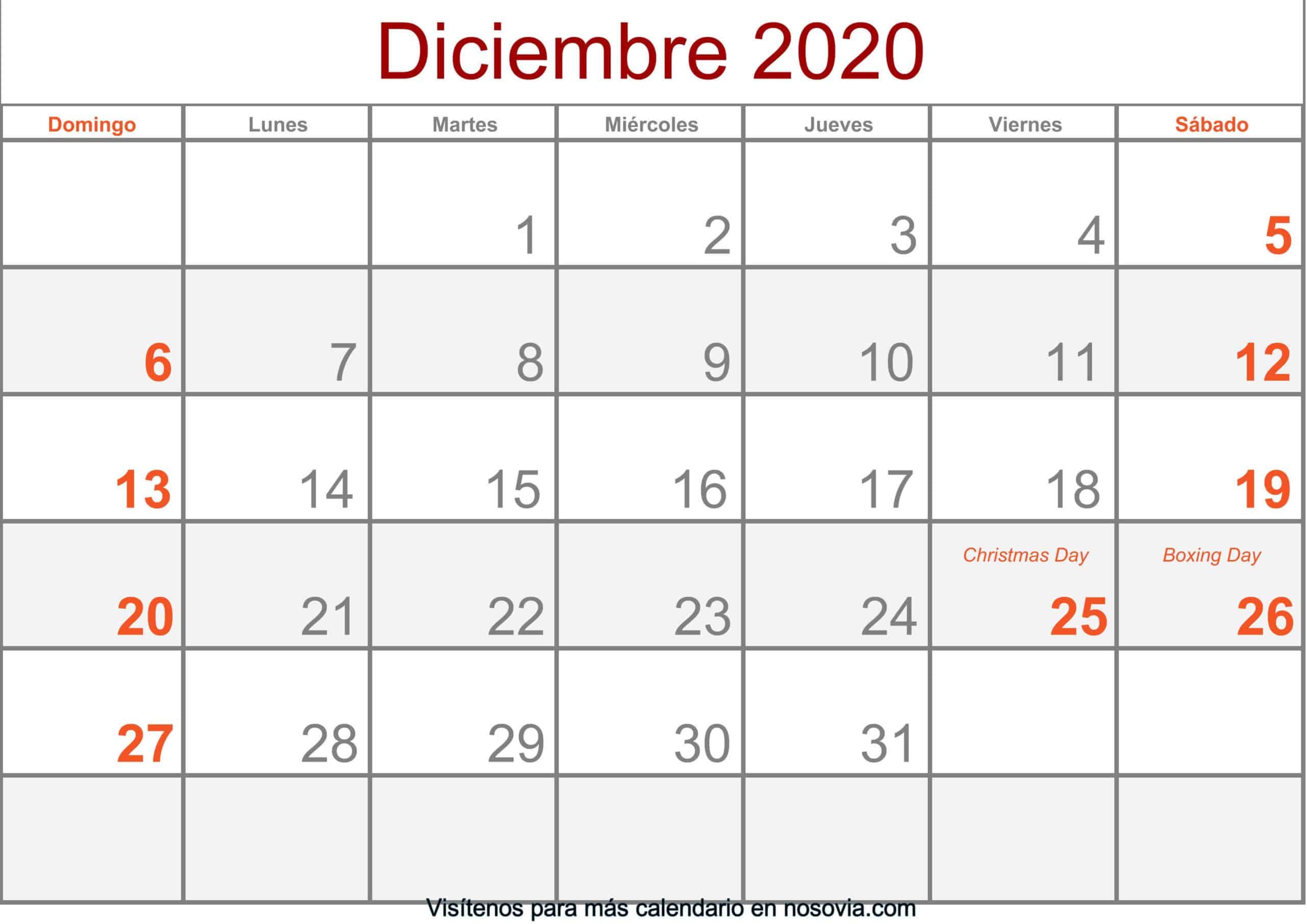 Calendario-diciembre-2020-Con-Festivos-Formato