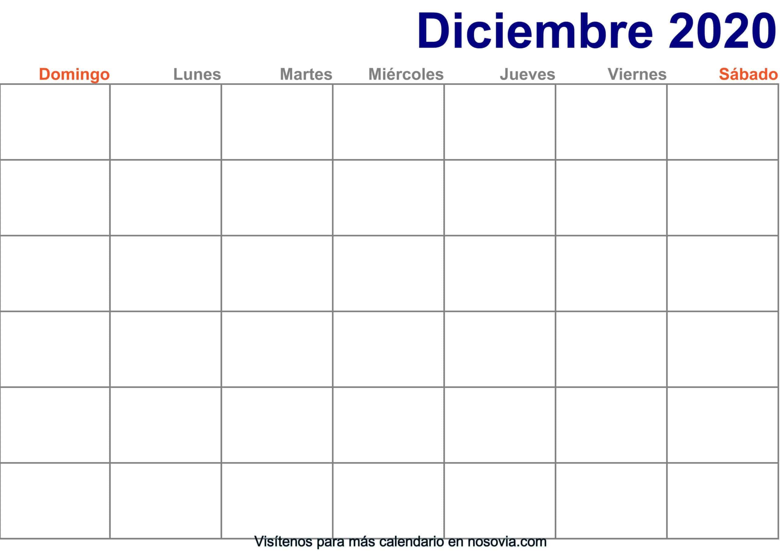 Calendario-diciembre-2020-en-blanco-Imprimir-gratis