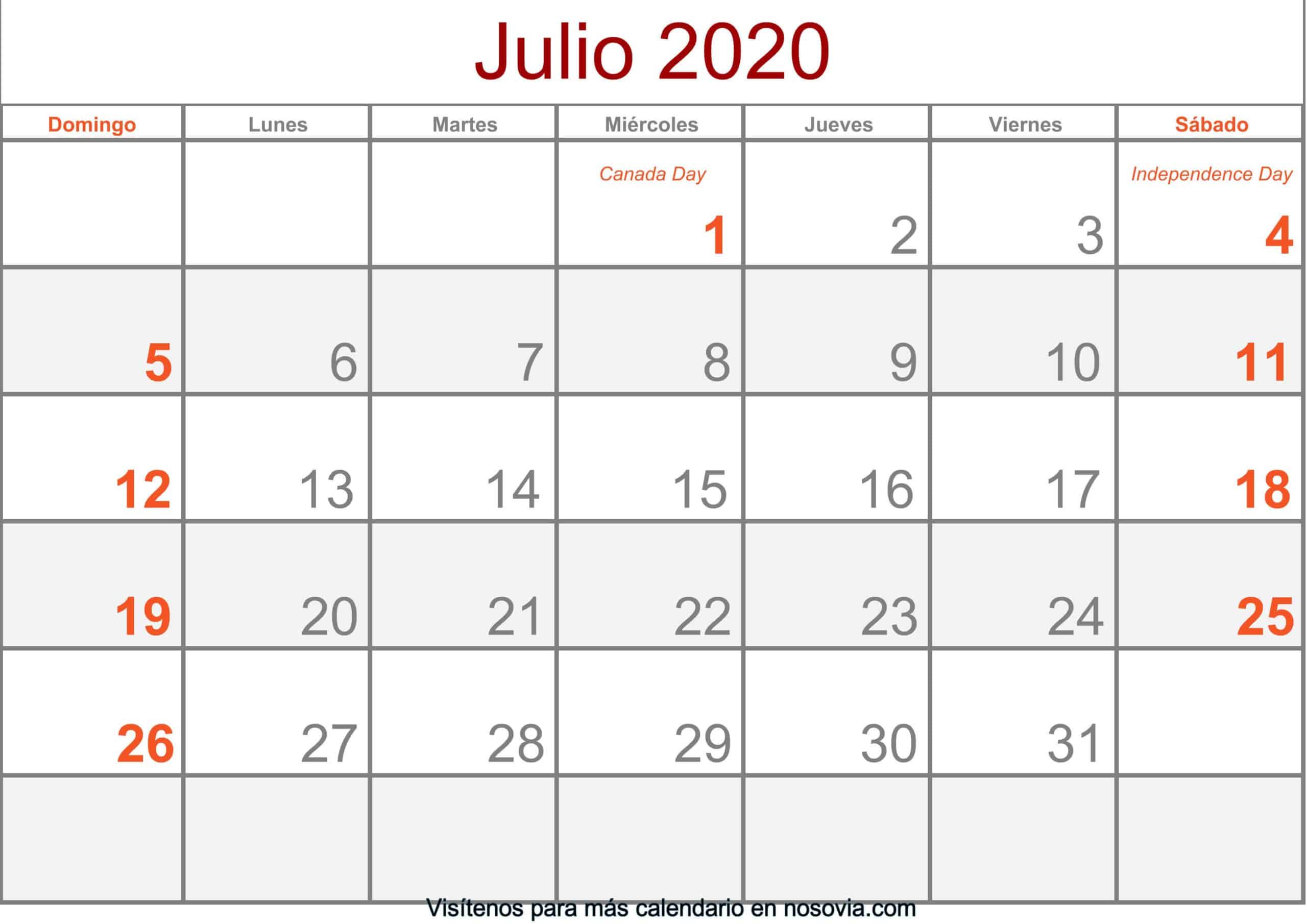 Calendario-julio-2020-Con-Festivos-Formato