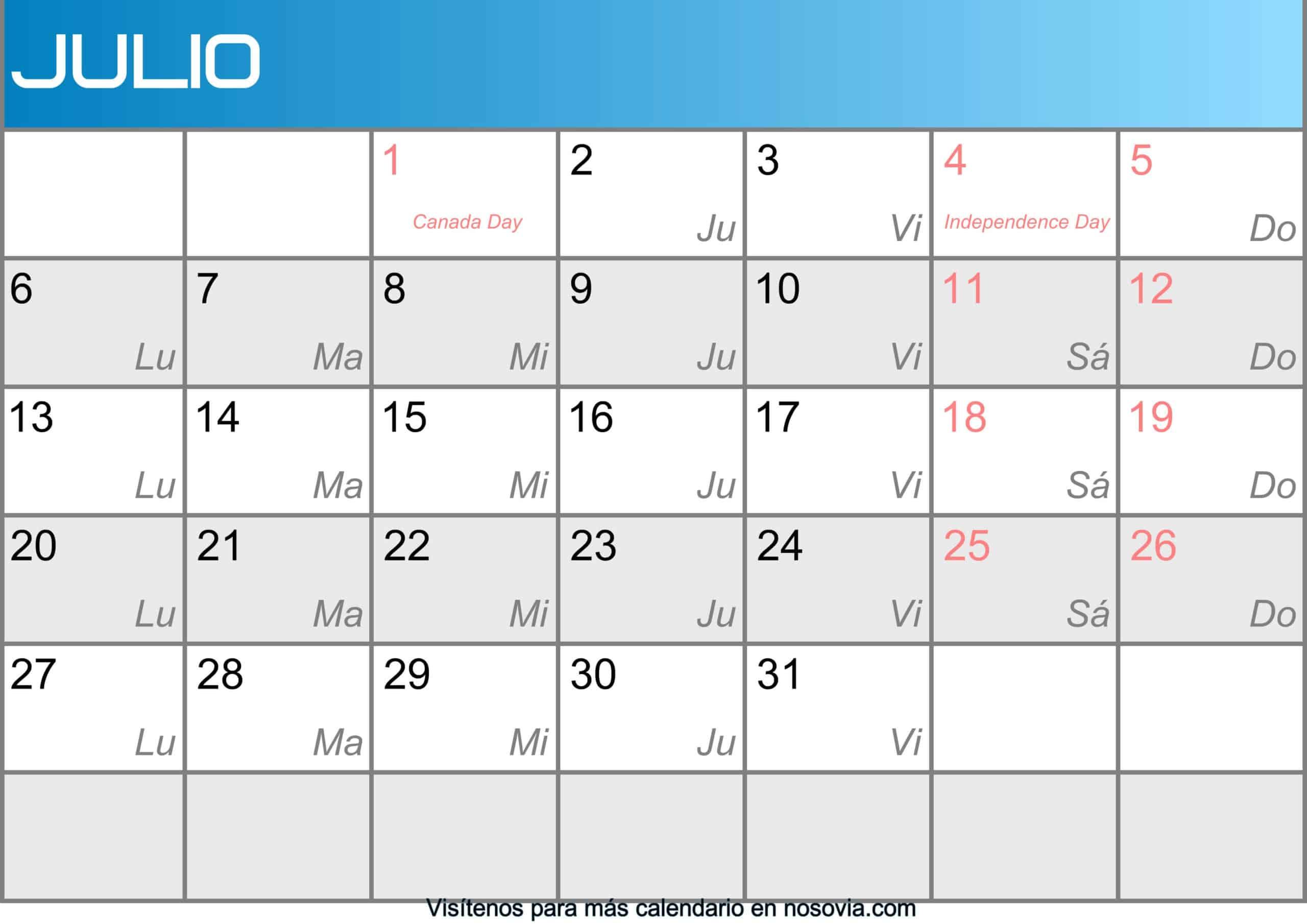 Calendario-julio-2020-Con-Festivos-Imágenes