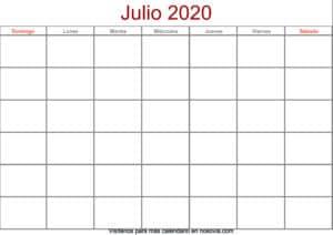 Calendario-julio-2020-en-blanco-Formato-gratis