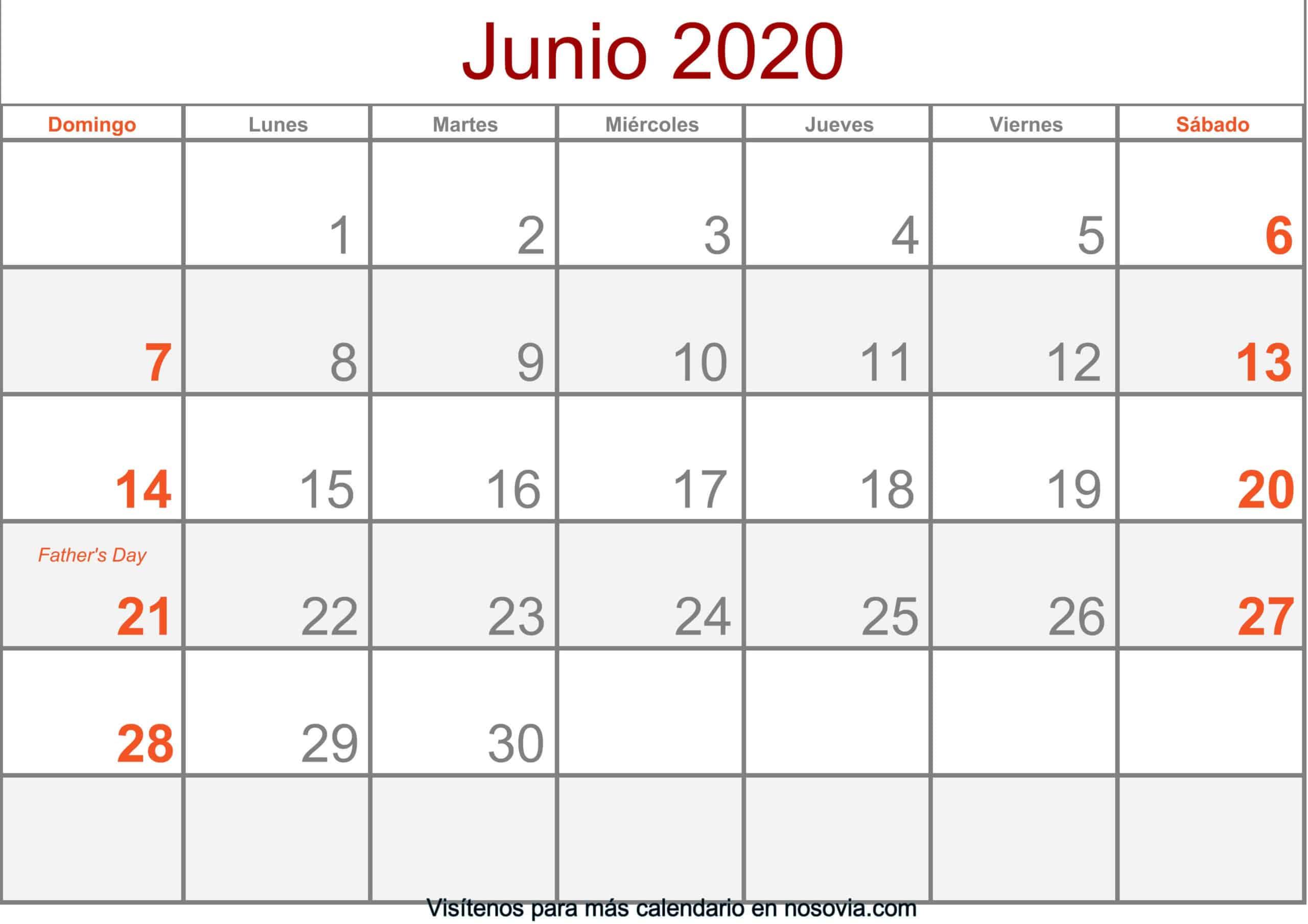 Calendario-junio-2020-Con-Festivos-Formato