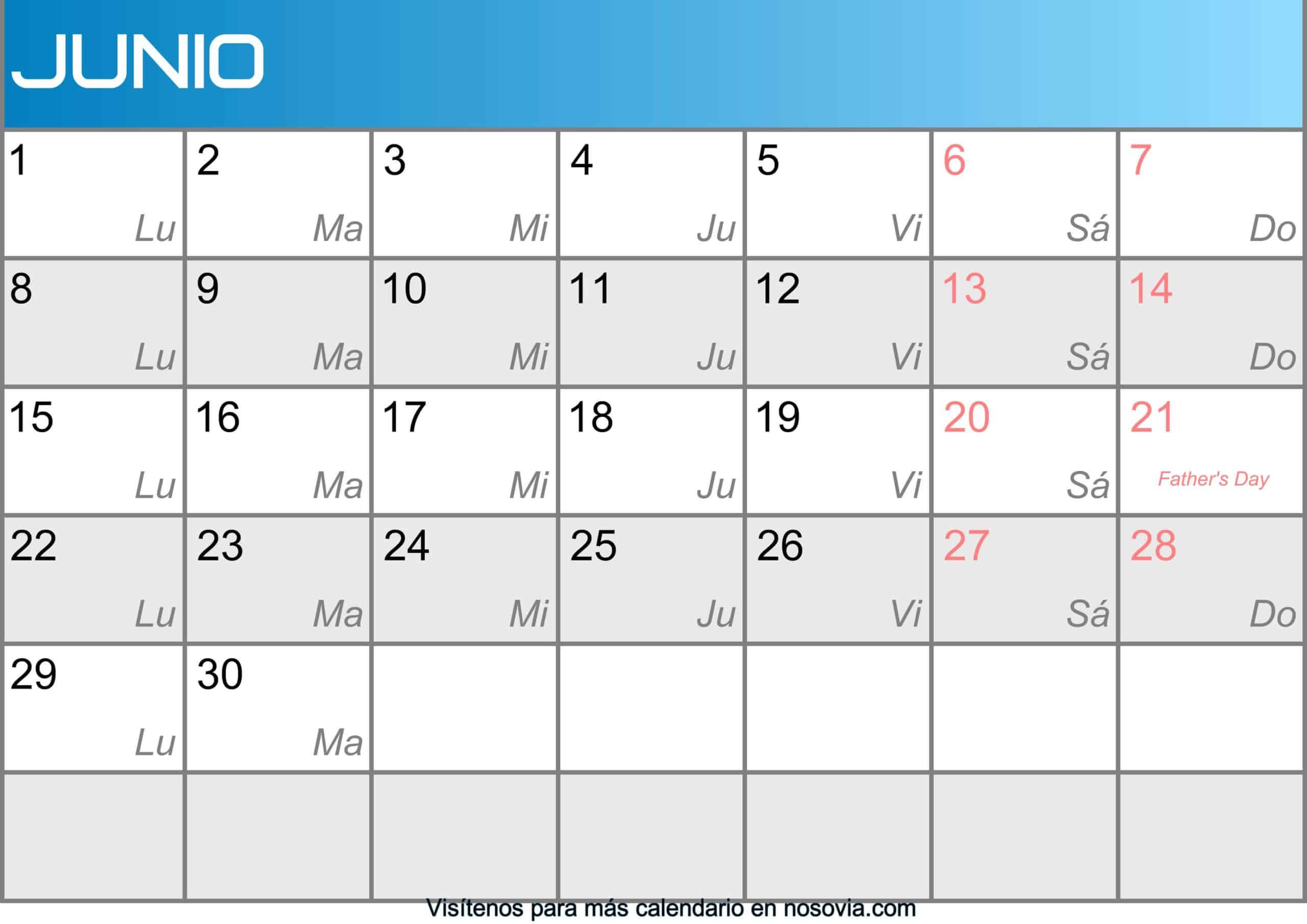 Calendario-junio-2020-Con-Festivos-Imágenes