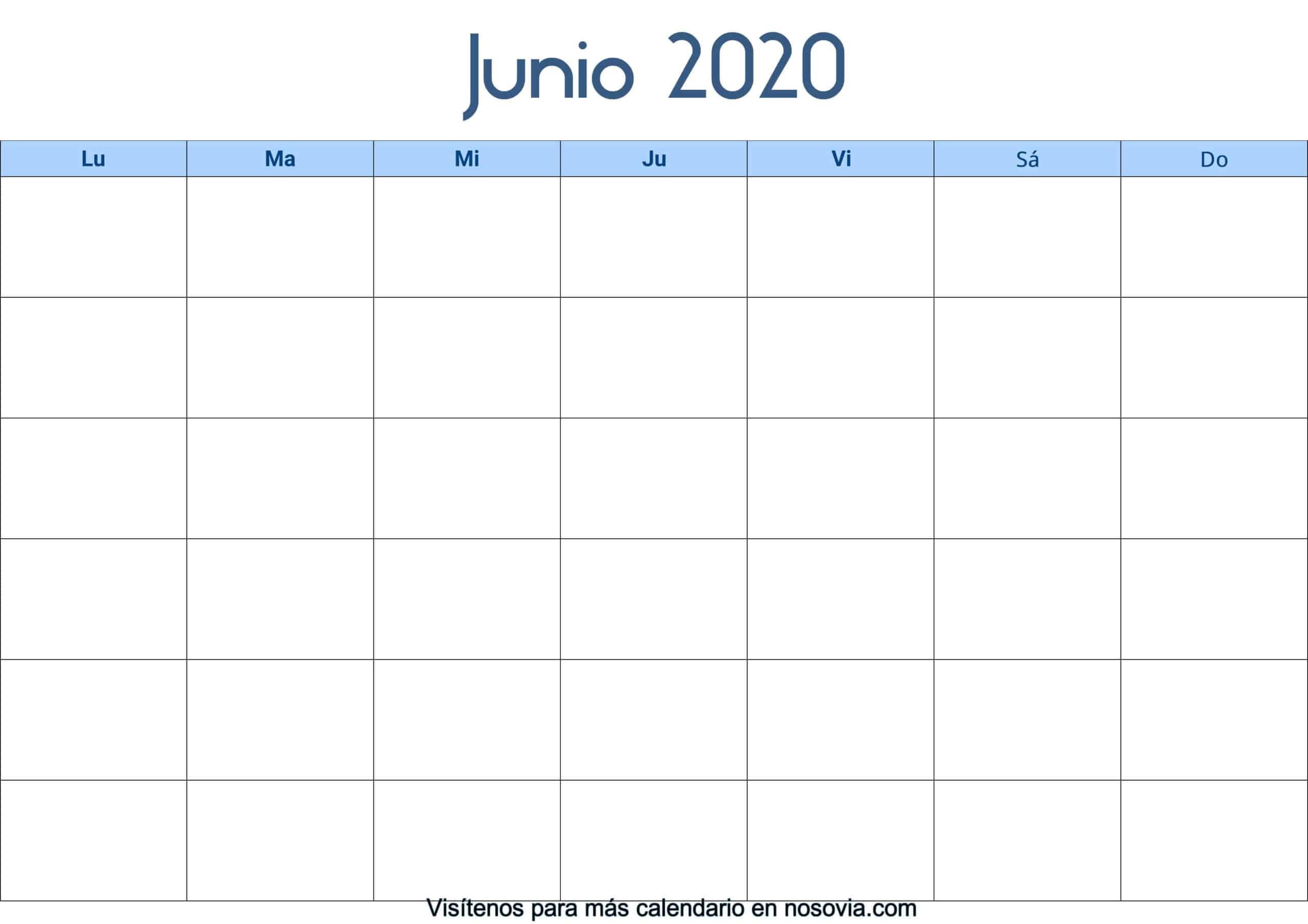 Calendario-junio-2020-en-blanco-Palabra-gratis