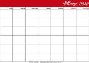 Calendario-marzo-2020-en-blanco-PDF-gratis