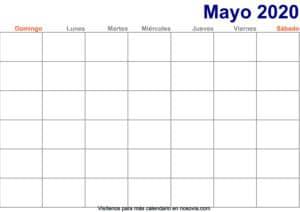 Calendario-mayo-2020-en-blanco-Imprimir-gratis