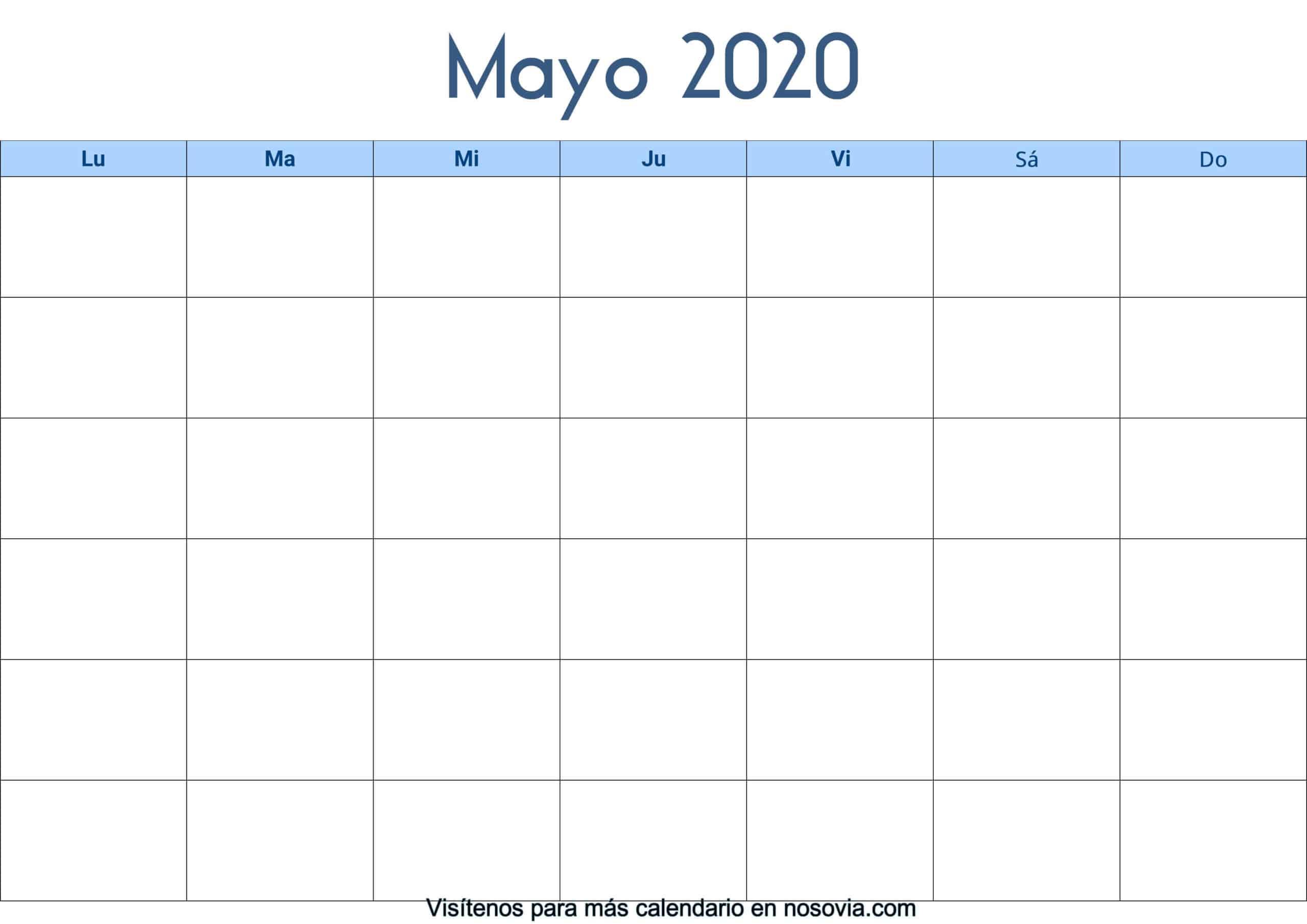 Calendario-mayo-2020-en-blanco-Palabra-gratis