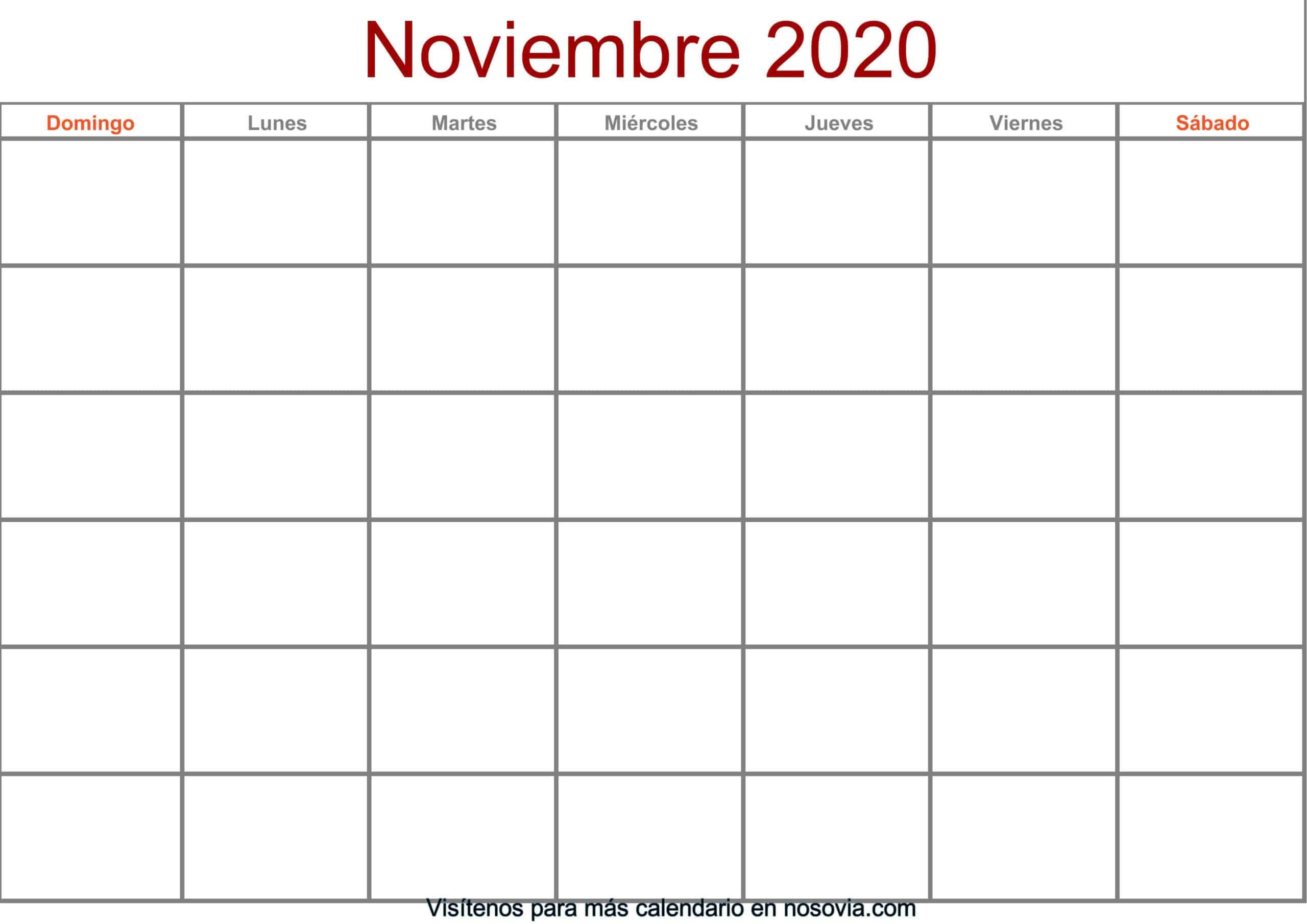 Calendario-noviembre-2020-en-blanco-Formato-gratis