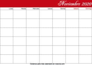 Calendario-noviembre-2020-en-blanco-imprimible-gratis