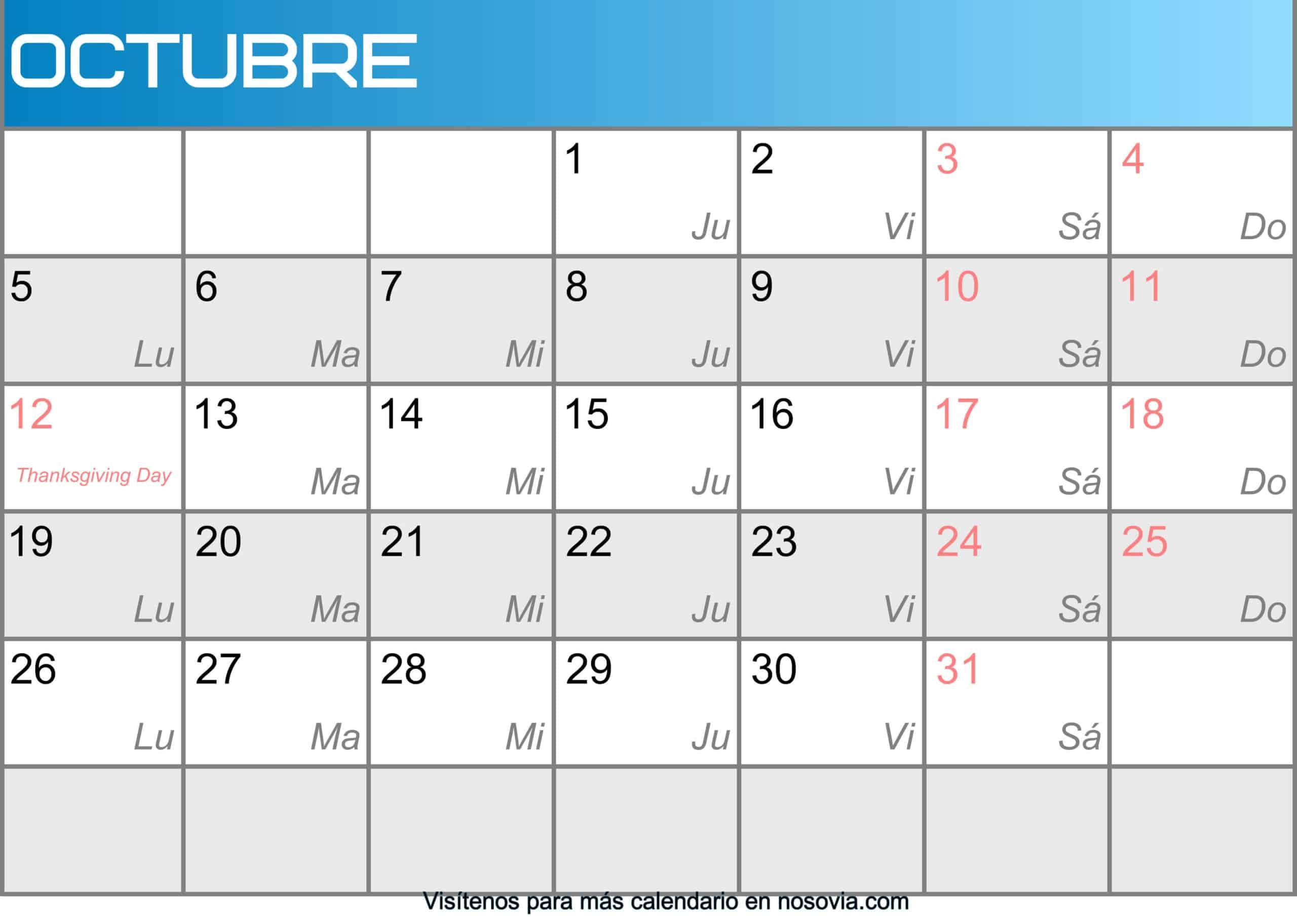 Calendario-octubre-2020-Con-Festivos-Imágenes