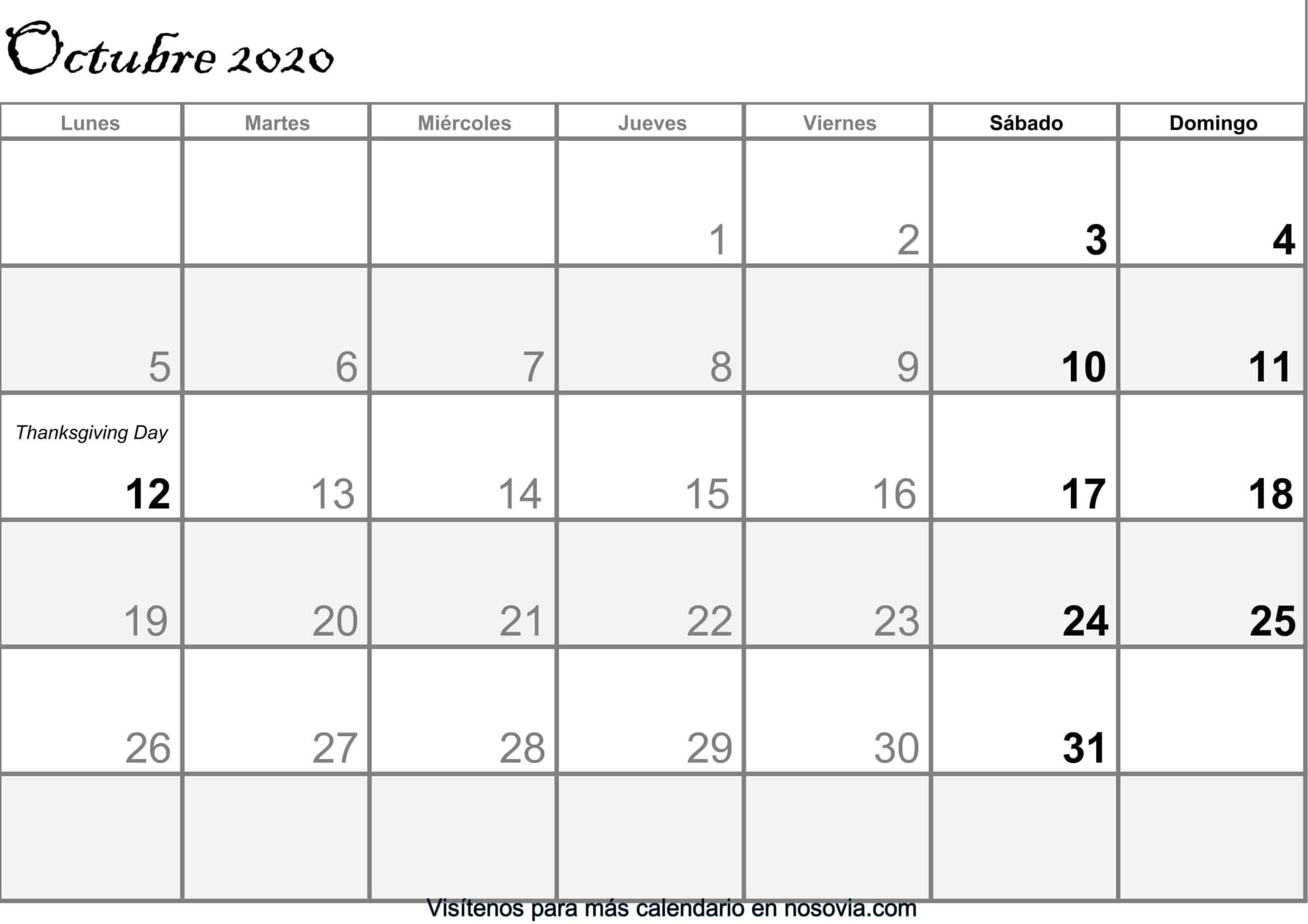Calendario-octubre-2020-Con-Festivos-PDF