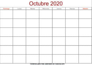 Calendario-octubre-2020-en-blanco-Formato-gratis