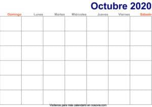 Calendario-octubre-2020-en-blanco-Imprimir-gratis