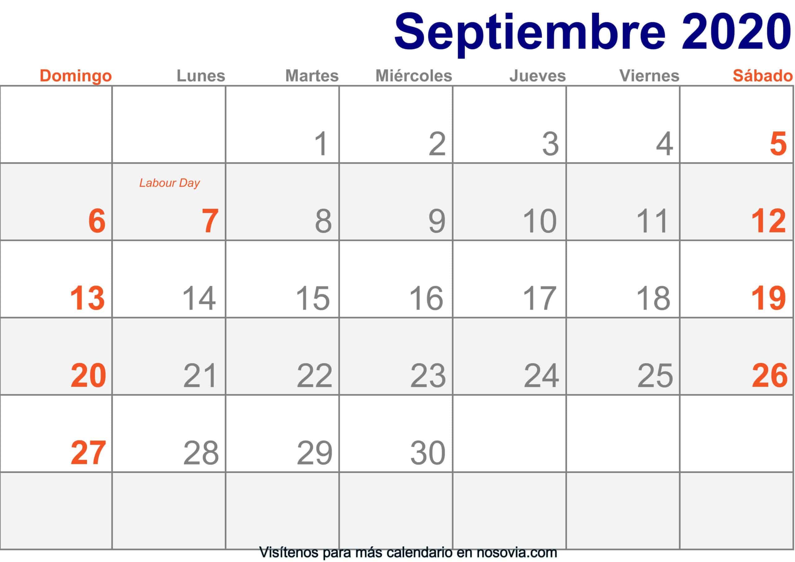 Calendario-septiembre-2020-Con-Festivos-Imprimir