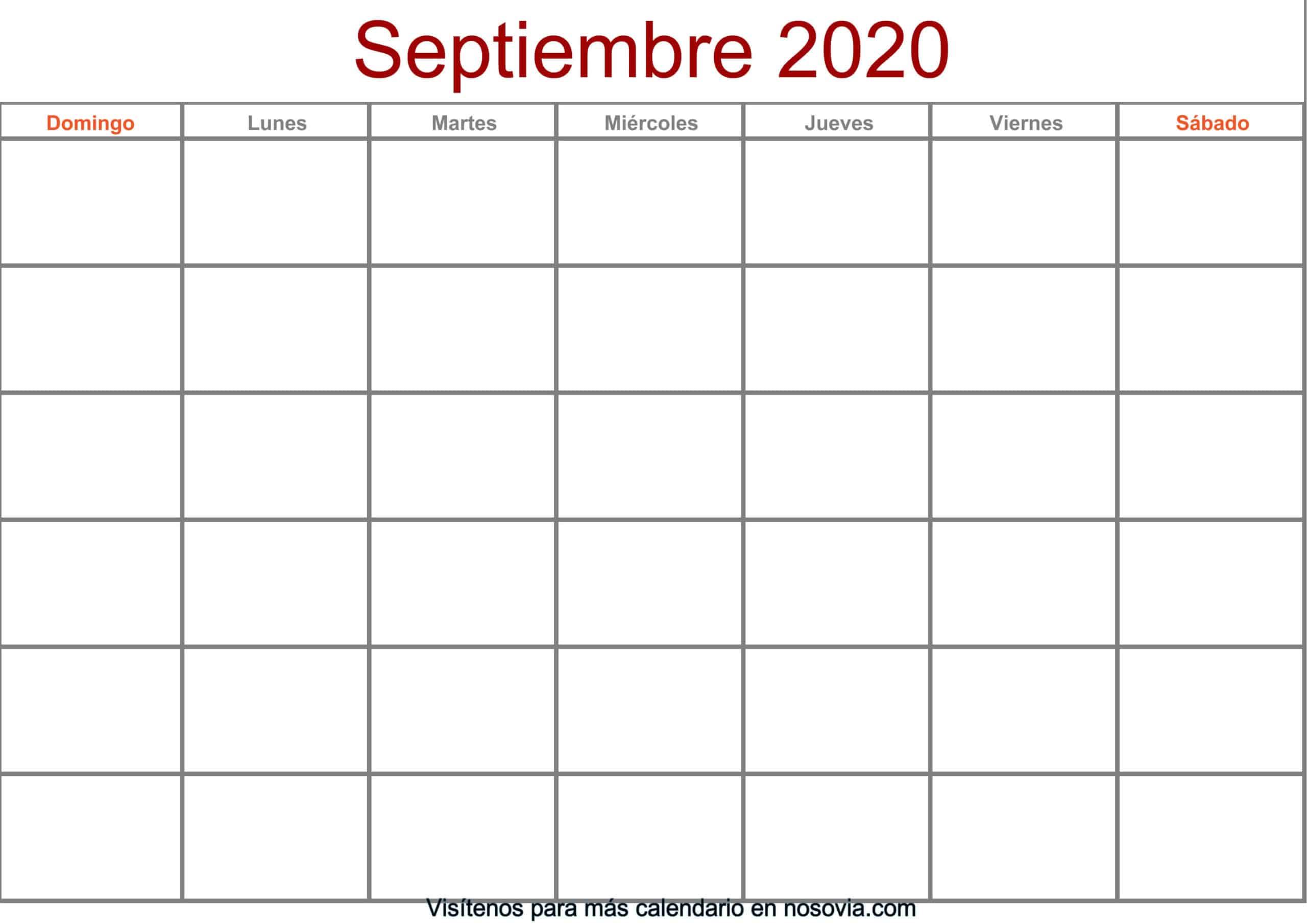 Calendario-septiembre-2020-en-blanco-Formato-gratis