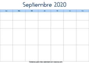 Calendario-septiembre-2020-en-blanco-Palabra-gratis